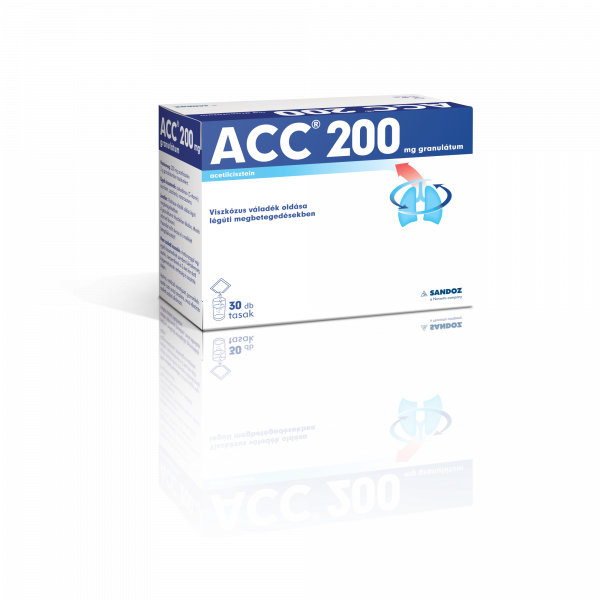 ACC 200 mg granulátum 30x