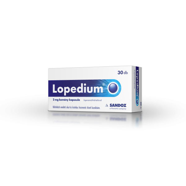 Lopedium kapszula 2 mg 30x
