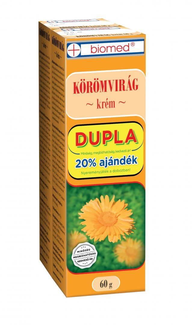 Biomed Körömvirág Krém DUPLA, 2x60 g