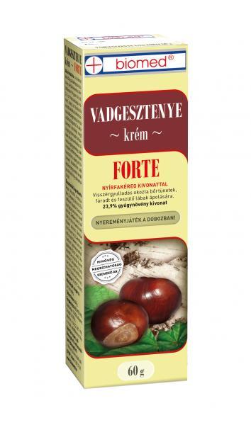 Biomed Vadgesztenye Krém FORTE 60 g