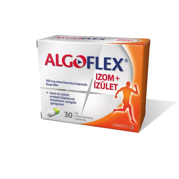 Algoflex Izom+Ízület retard kemény kapszula 30x