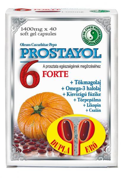 Dr.Chen Prostayol 6 1400mg Forte kapszula 40x
