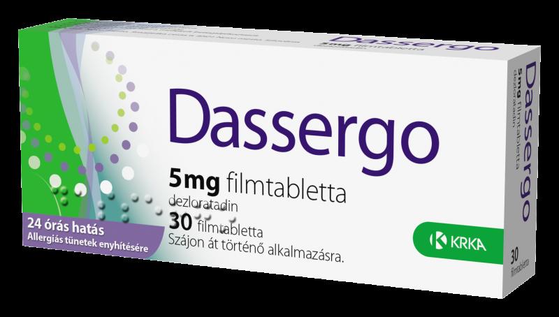 Dassergo 5 mg filmtabletta 30x