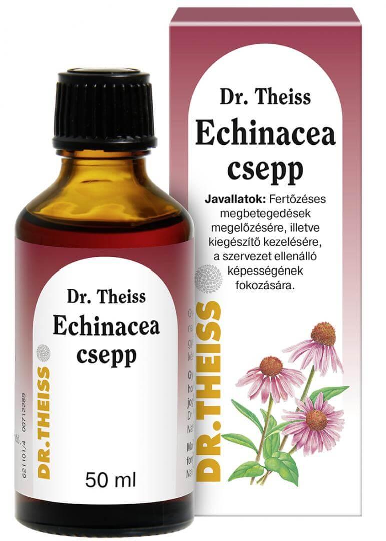 Dr. Theiss Echinacea csepp 50 ml gyógyhatású készítmény