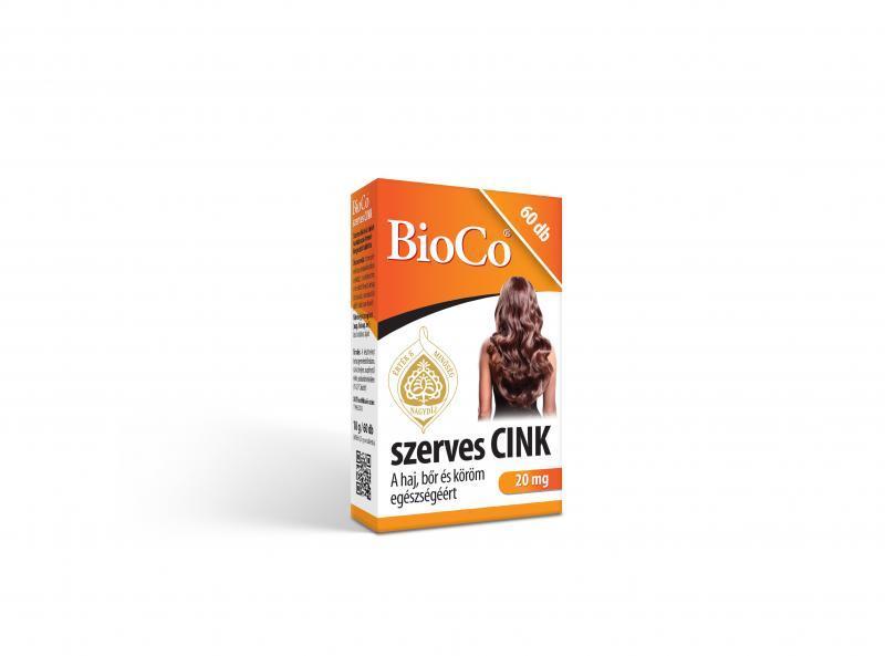 BioCo szerves CINK 60 db tabletta