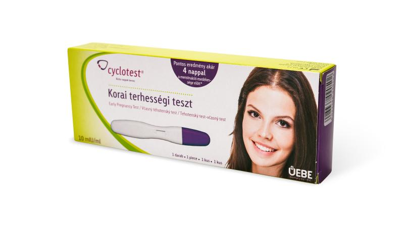 CYCLOTEST- Korai terhességi teszt (10 mIU/ml), 1 db