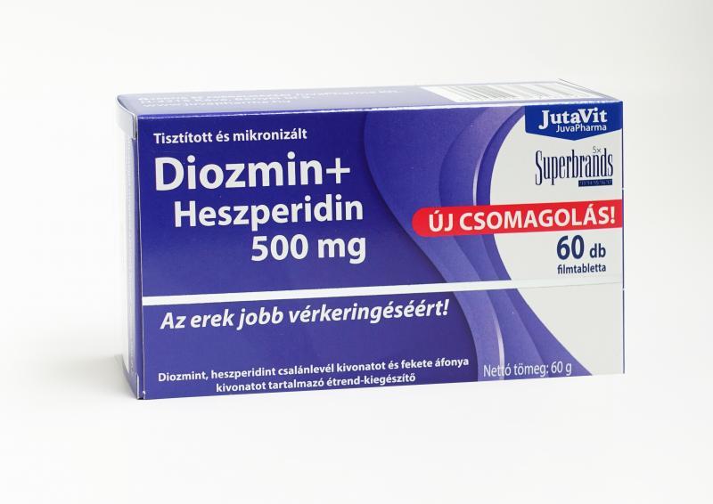 JutaVit Diozmin+Heszperidin 500mg tabletta 60db
