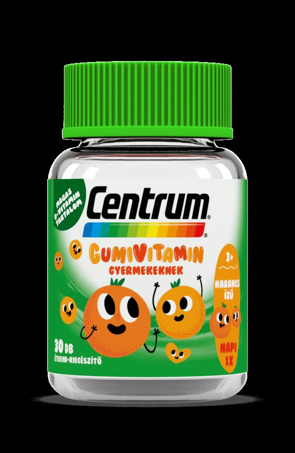 Centrum® Gumivitamin gyermekeknek narancs ízben, 30x