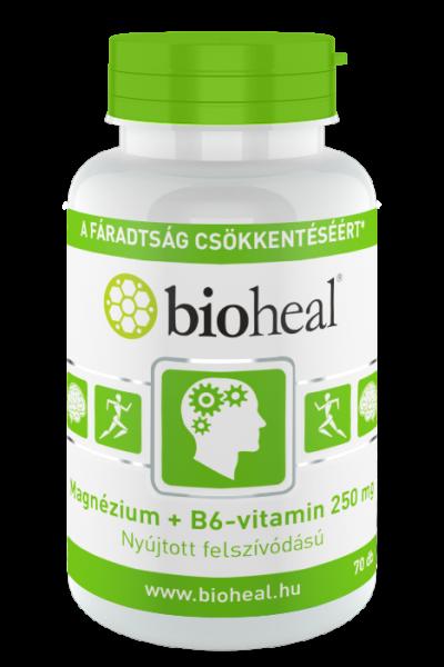 Magnézium + B6-vitamin 250 mg szerves nyújtott felszívódású, 70 db
