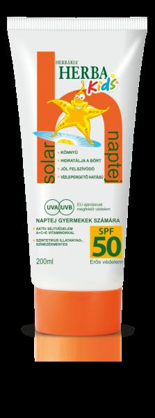 Herbária Herba Kids Naptej SPF 50, 200 ml