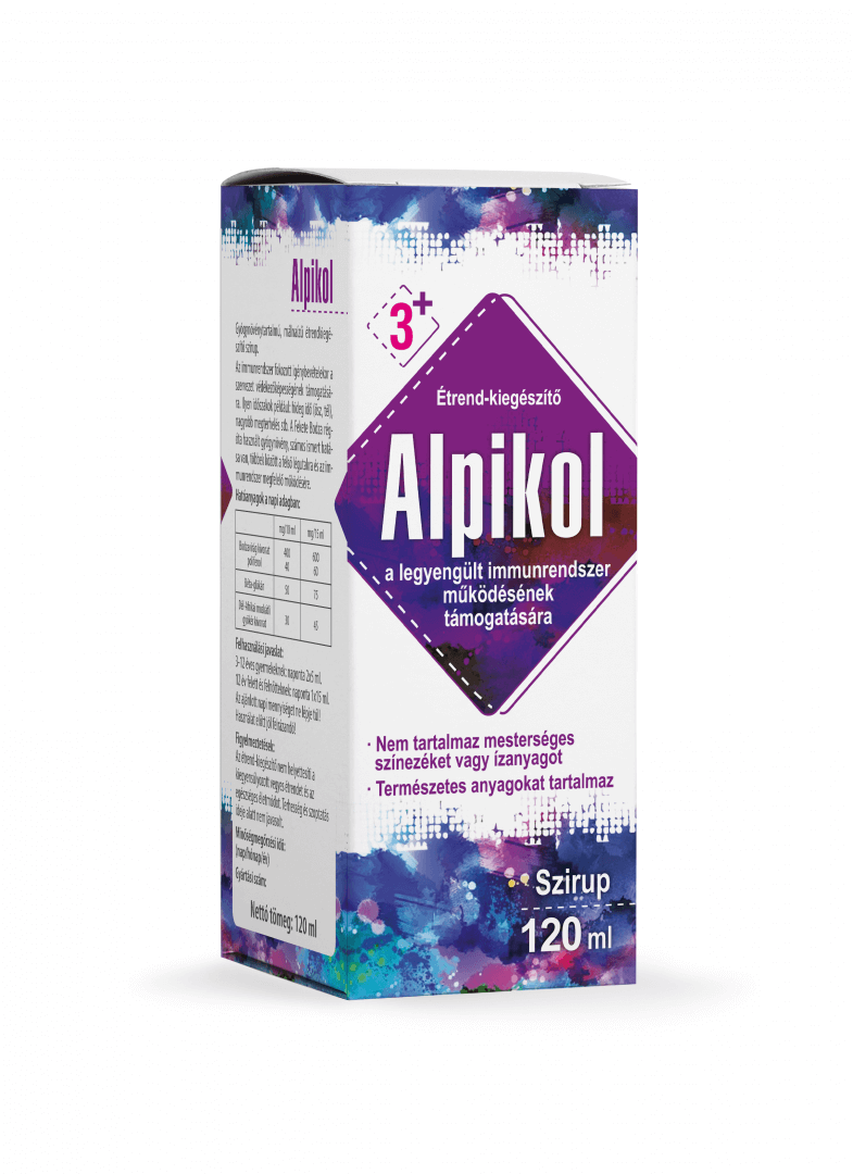 Alpikol szirup, 120 ml