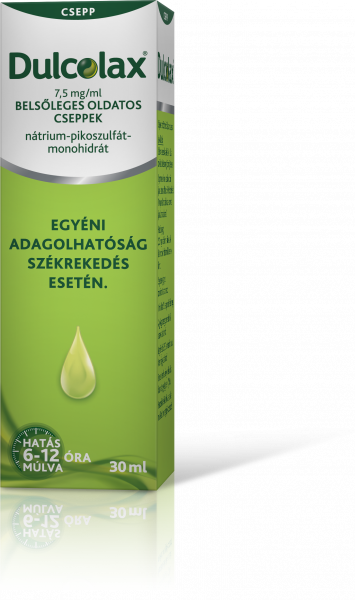 Dulcolax® 7,5 mg/ml belsőleges oldatos cseppek 30 ml