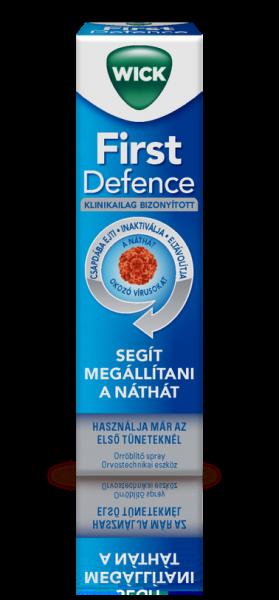Wick First Defence orröblítő spray - orvostechnikai eszköz (15 ml)