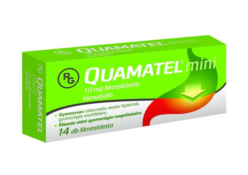 Quamatel® Mini filmtabletta, 14 db