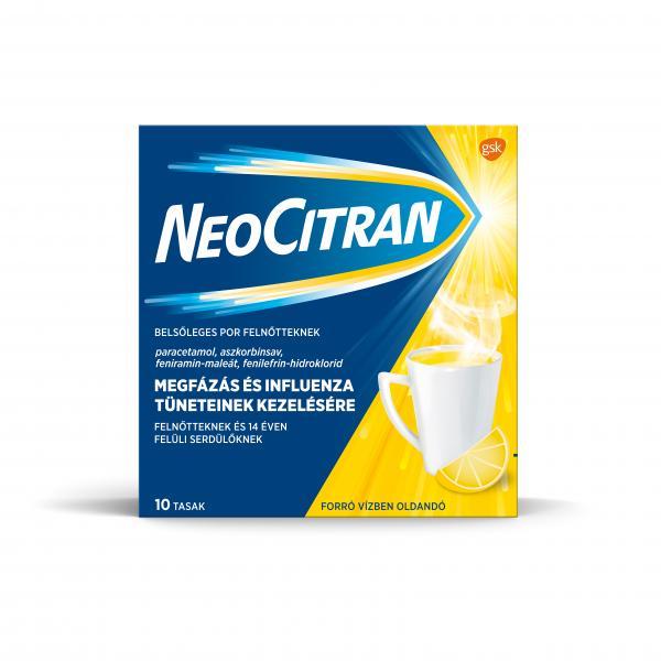 Neo Citran belsőleges por felnőtteknek, 10x