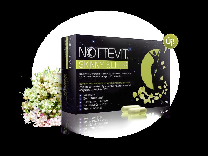 Nottevit Skinny Sleep étrend-kiegészítő kapszula 30x
