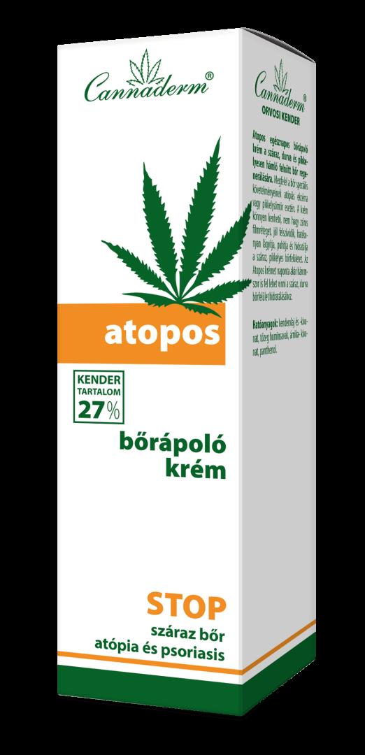 Cannaderm Atopos bőrápoló krém