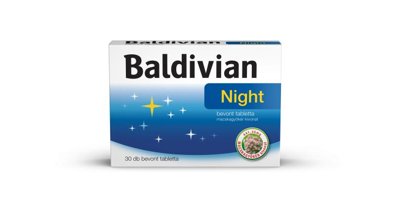Baldivian Night bevont tabletta, 30x