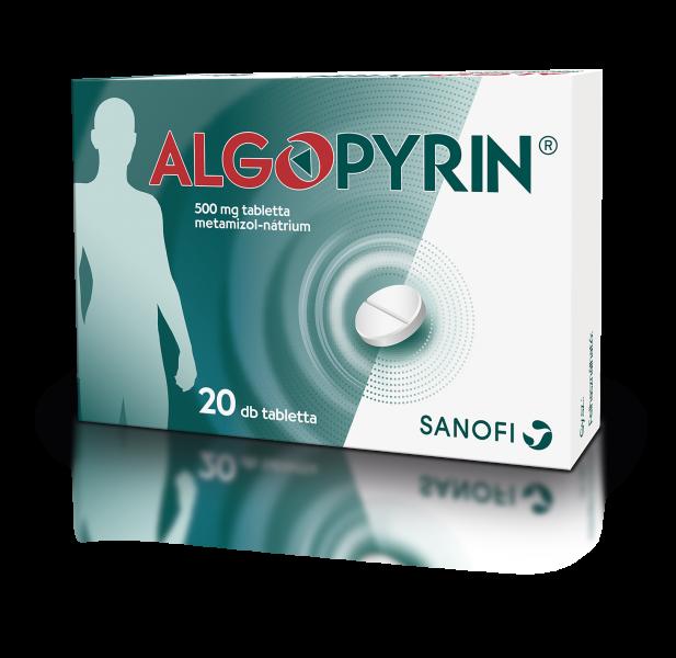 Algopyrin 500 mg tabletta 20x