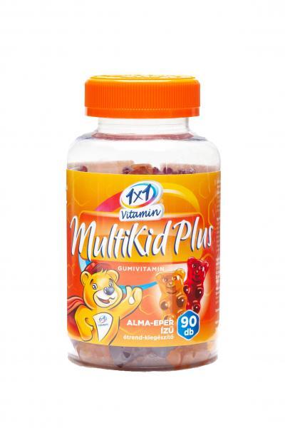 1x1 Vitamin MultiKid Plus gumivitamin 90x